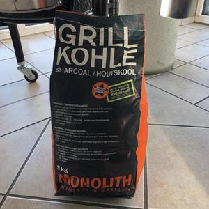 Monolith Premium Grillkohle 3kg