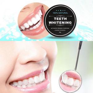 Teeth Whitening 100% Natürlich Aktivkohle ZÄHNE AUFHELLEN