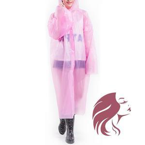 Regenmantel rosa