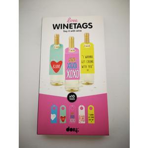 Wine Tags Geschenkverpackung Wein