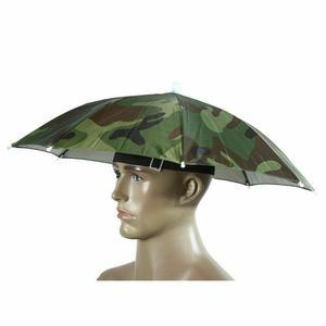 Sonnenschutz cammoflage Angeln Hut Regenschirm