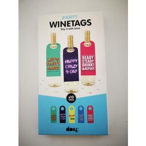 Wine Tags Wein Geschenksverpackung Anhänger