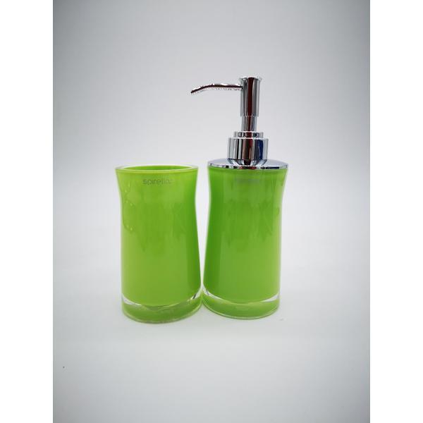 Spirella Seifenspender grün Acryl