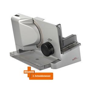 Ritter E16 Duo Plus - Brotschneidemaschine - silber metallic - inkl. Extramesser