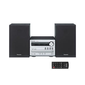 Panasonic SC-PM250EG-S - Kompakt-Stereo-Anlage - silber-schwarz