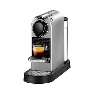 Krups Nespresso XN741B CitiZ Silber - Nespresso Kapselmaschine - silber