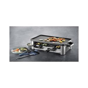 WMF Lono - Raclette-Grill - für 8 Personen - edelstahl