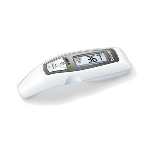 Fieberthermometer Beurer FT65 weiß mit Messung an Schläfen, Ohr, Stirn
