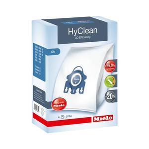 Miele Staubbeutel - HyClean 3D Efficiency G/N - Packung mit 4 Beutel & 2 Filter - blau