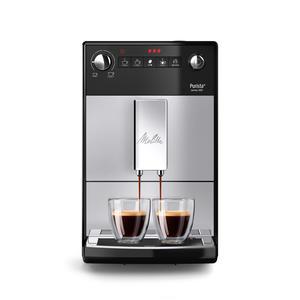 Melitta Purista - Kaffeevollautomat - silber-schwarz