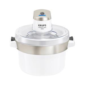 Krups Perfect Mix 9000 - Eismaschine - chrom-weiß