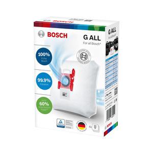 Bosch Staubbeutel Typ G All PowerProtect - BBZ41FGALL - 4er-Pack - weiß