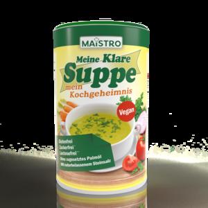 Vegane Gemüsebrühe und Würzmittel 900g/45Liter Gemüsesuppe mit Steinsalz. Ideal auch Würzmittel für Fleisch, Fisch, Reis oder Nudelgerichte. Mit MAISTRO schmeckt's immer.