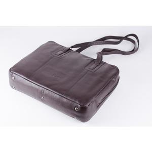 Leder Henkel-Handtasche