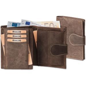Hochformat-Geldbörse mit Außenriegel