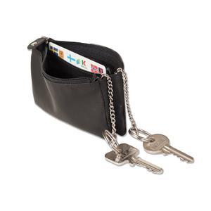 Doppelfach Schlüsseltasche mit getrennten Fächern