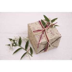 Geschenkpapier aus Graspapier