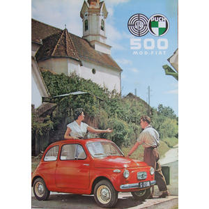 Poster Puch 500 Auto