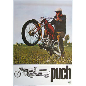 Poster Puch MC 50