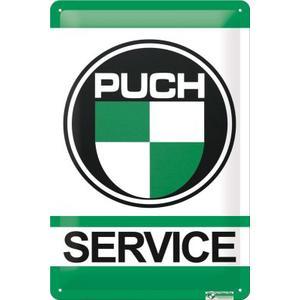 """Blechschild """"Puch Service"""""""