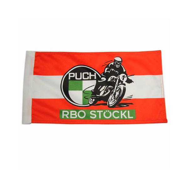 Fahne Österreich mit RBO Puch Logo