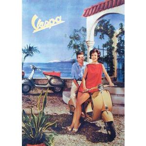 Poster Vespa 1962