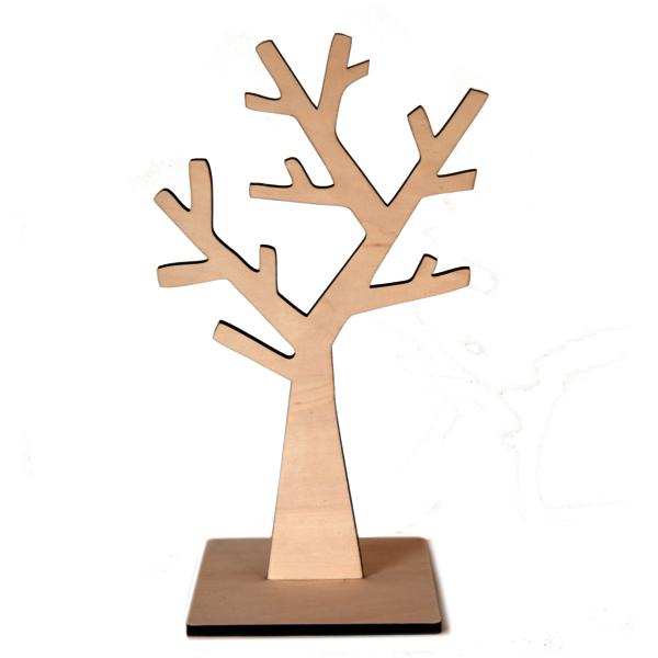 Dekobaum aus Holz | Schmuckhalter | Notizsammler | Geldgeschenk