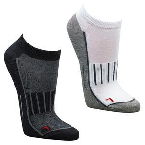6 Paar Sneaker-Sport-Socken Funktionssneaker mit Belüftung (43-46 schwarz)