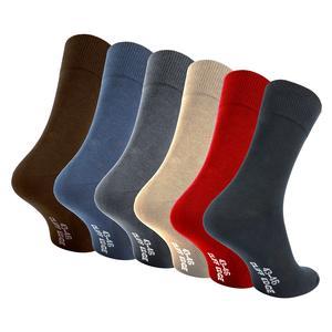 10 Paar atmungsaktive PREMIUM Business-Socken Herrensocken kein Schwitzen dank bester Qualität (10 Paar, 43-46, 5x Schwarz, 1x Braun, 1x Navy-Blue, 1x Dunkel-Grau, 1x Beige, 1x Rot)