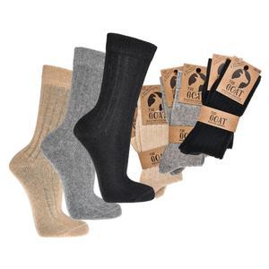 Merino Kaschmir Socken - weiche Socken mit Merino-Wolle und Kaschmir-Edelhaar für Damen und Herren (3x schwarz 43-46)
