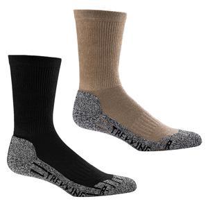 1 Paar Funktions-Socken Trekking Socken mit COOLMAX (39-42 schwarz)