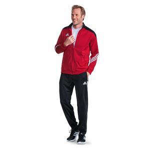 Adidas Sereno Trainingsanzug Rot-Schwarz Größe M