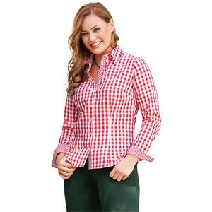 Trachten-Bluse mit zarten Knöpfen
