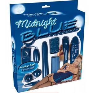 Midnight Blue Erotik Toy Set
