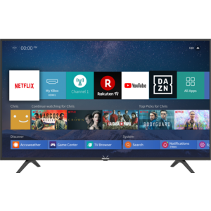 H43B7100 108 cm Bilddiagonale, Smart TV, 4K / Ultra HD, Quad Core Prozessor