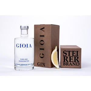 GIOIA Gin Styrian Premium Dry Gin - 0,5L Flasche