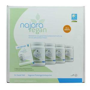 LL Najara Vegan Protein Shake Pulver (3+1)