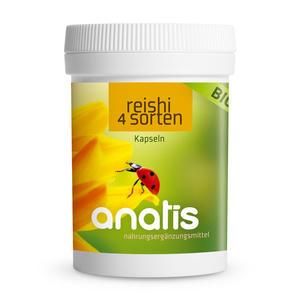 anatis Bio Reishi Pilz 4 Sorten (90 Kps.)