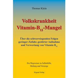 Volkskrankheit Vitamin-B12-Mangel (Buch)