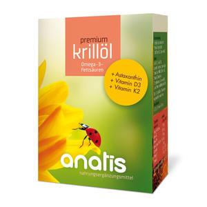 anatis Krillöl +Vit D3+Vit K2 (80 Kps.)
