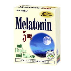 Espara Melatonin 5mg (60 Kps.)