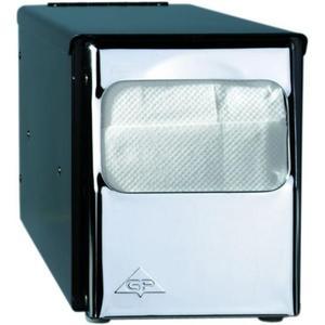 1 Stk. Spender zu Papierservietten 25x30 cm, schwarz