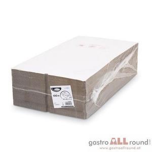 100 Stk. Pizzakarton -extra stark- weiß 32 x 32 x 3 cm