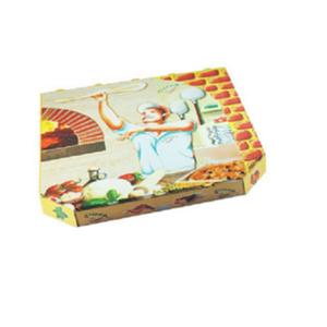100 Stk. Pizzakarton aus Mikrowellpappe 32 x 32 x 3 cm