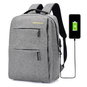 Laptop Rucksack Schule Rucksack für bis14Zoll Laptop Schulrucksack mit USB-Ladeanschluss für Arbeit Wandern Reisen Camping,für Herren und Damen