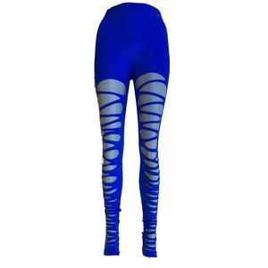 Damen super cool Sport zerissene leggins