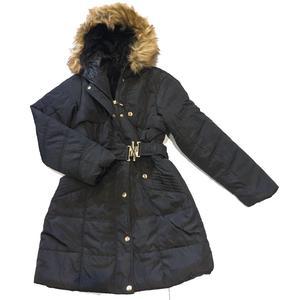 Winterschlussverkaufen! Nur €25!!! Damen Winter Jacke Mantel Winterjacke fell gefüttert mit Kapuze Frauen Lang Parka Wintermantel Warm Trenchcoat - Variante