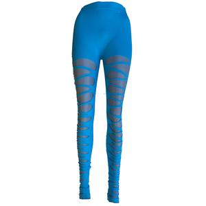 Damen super cool Sport zerissene leggins - Variante - Variante