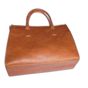 Damen 4Pcs PU Leder Tasche Set Handtasche + Schultertasche + Abendtasche+Geldbörse
