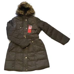 Winterschlussverkaufen! Nur €25!!! Damen Winter Jacke Mantel Winterjacke fell gefüttert mit Kapuze Frauen Lang Parka Wintermantel Warm Trenchcoat - Variante - Variante - Variante